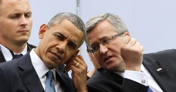 Prezydent USA Barack Obama rozmawiał  telefonicznie z prezydentem Bronisławem Komorowskim – poinformował Biały Dom. Główny temat rozmowy - sytuacja na Ukrainie, przygotowania do szczytu NATO oraz odpowiedź wspólnoty transatlantyckiej na zestrzelenie boeinga 777.