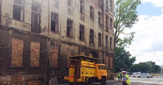 Zawaliła się kamienica w centrum Łodzi przy ul. Zielonej. Runęła narożna ściana budynku. Informację otrzymaliśmy na Gorącą Linię RMF FM.