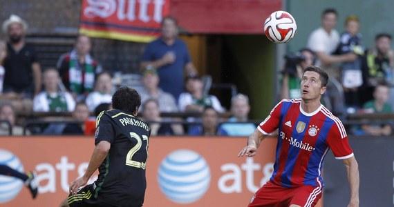 Robert Lewandowski zdobył jedynego gola dla Bayernu Monachium w przegranym 1:2 towarzyskim meczu z zespołem gwiazd amerykańskiej ekstraklasy (MLS) w Portland. To piąte trafienie polskiego piłkarza w barwach mistrza Niemiec.