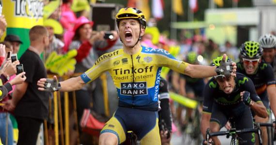 Rafał Majka wygrał w Szczyrbskim Jeziorze na Słowacji piąty etap 71. Tour de Pologne. Na finiszu pod górę wyprzedził Hiszpanów Benata Intxaustiego oraz Jona Izagirre.