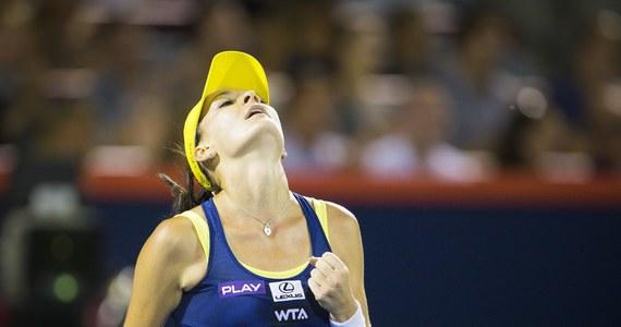 """Rozstawiona z numerem trzecim Agnieszka Radwańska podkreśliła, że zwycięstwo nad Rosjanką Jekateriną Makarową w półfinale turnieju WTA Tour w Montrealu nie przyszło jej łatwo i kosztowało sporo wysiłku. """"Musiałam je wybiegać"""" - oceniła polska tenisistka."""