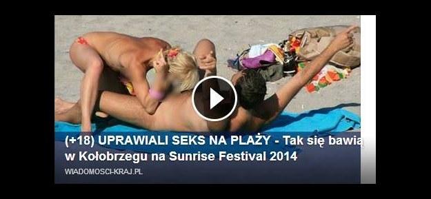 sex filmy na plaży