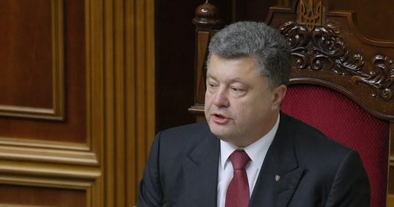 Będą przedterminowe wybory na Ukrainie. W najbliższą niedzielę - w Dniu Niepodległości - prezydent Petro Poroszenko ma podpisać dekret o rozwiązaniu parlamentu. Ogłosił to jego rzecznik Swiatosław Cegolko.