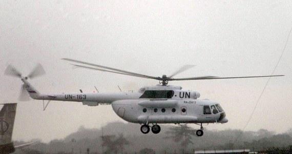 Trzech członków załogi śmigłowca transportowego ONZ zginęło, a jeden został ranny, gdy maszyna rozbiła się podczas wykonywania rutynowej misji na terytorium Sudanu Południowego - poinformowała ONZ. Agencja ITAR-TASS podała, że zabici to Rosjanie.