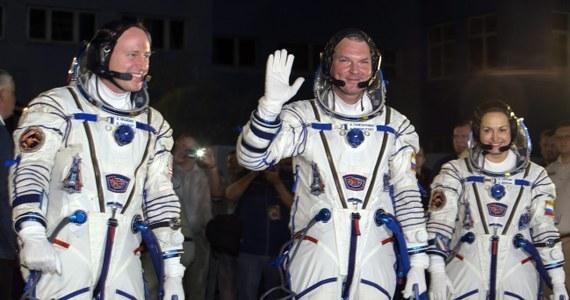 Rosyjski statek kosmiczny Sojuz TMA-14M dotarł do Międzynarodowej Stacji Kosmicznej (ISS). Lot trwał sześć godzin. Na pokładzie Sojuza znajdują się trzy osoby.