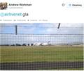 Polski samolot awaryjnie wylądował w Glasgow