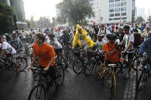 Masa krytyczna, czyli zorganizowany przejazd grup cyklistów to