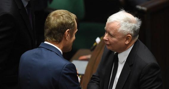"""Jarosław Kaczyński i Donald Tusk uścisnęli sobie dłonie po expose Ewy Kopacz w Sejmie. """"Powiedziałem mu, żeby nie wierzył że go nienawidzę - to po pierwsze. A po drugie, że życzę mu powodzenia"""" - relacjonował później prezes PiS. """"Jestem przekonany, że to wpływ pani premier Ewy Kopacz i w jakimś sensie można go zaliczyć do kategorii politycznych sensacji, a nawet cudów"""" - skomentował z kolei przyszły szef Rady Europejskiej."""