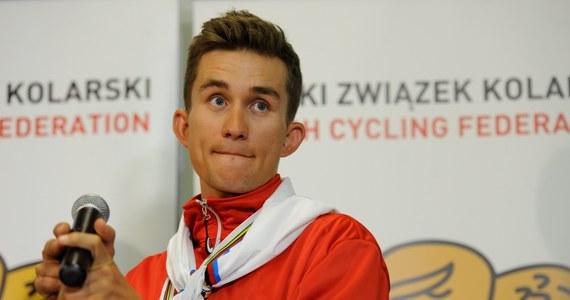 """""""12 kilometrów przed metą złapał mnie tak mocny skurcz w prawej nodze, że nie mogłem dłużej pedałować. Po sześciu i pół godzinie na rowerze takie rzeczy mogą się zdarzyć. W tej sytuacji próbowałem z honorem ukończyć wyścig"""" - mówił Michał Kwiatkowski po ukończeniu wyścigu Giro di Lombardia."""