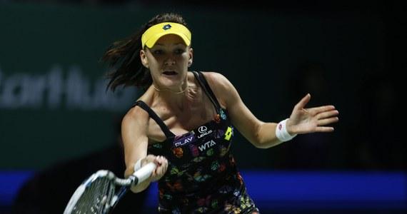 Agnieszka Radwańska w półfinale turnieju WTA Finals (godz. 12 czasu polskiego) zmierzy się w Singapurze z Rumunką Simoną Halep. Polska tenisistka nigdy wcześniej nie wystąpiła w decydującym spotkaniu kończącej sezon imprezy masters.