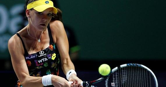 Finał kończącego tenisowy sezon - prestiżowego turnieju WTA Finals w Singapurze - nie dla Agnieszki Radwańskiej. Krakowianka w półfinale gładko uległa Rumunce Simonie Halep 2:6, 2:6.
