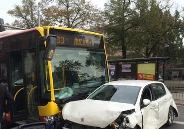 Karambol we Wrocławiu: Zderzyło się 10 pojazdów