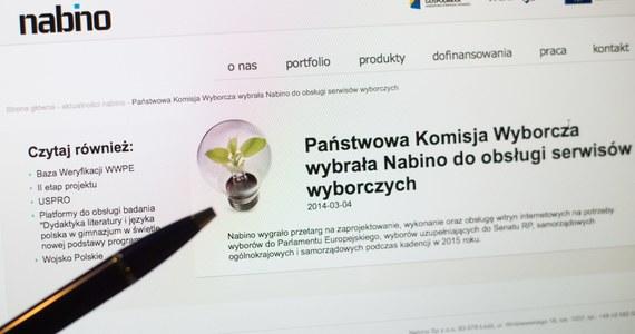 Ktoś nas próbuje zastraszyć - mówi reporterowi RMF FM Maciej Cetler, jeden z szefów Nabino. To łódzka firma odpowiedzialna za stworzenie komputerowego systemu liczenia głosów w wyborach samorządowych.