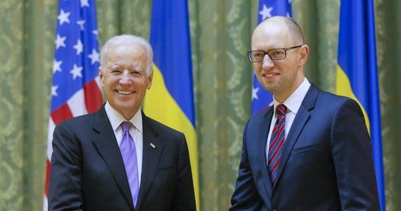 """""""Wzywamy Rosję do wypełnienia ustaleń pokojowych na wschodniej Ukrainie, wypływających z porozumień z Mińska"""" - oświadczył w Kijowie wiceprezydent Stanów Zjednoczonych Joe Biden. Zaapelował też do władz ukraińskich o przeprowadzenie efektywnych reform."""