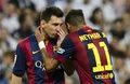 Leo Messi i Neymar na torze. Testowali samochody