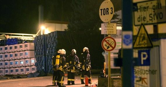 Do silnej eksplozji i pożaru doszło w poniedziałek wieczorem w zakładzie chemicznym w miejscowości Pirna pod Dreznem na wschodzie Niemiec. Jak poinformowała policja, zginęła jedna osoba, a wiele zostało rannych, w tym cztery ciężko.