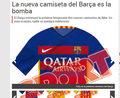 Rewolucja na koszulkach piłkarzy FC Barcelona