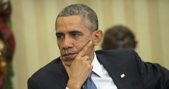 Prezydent Barack Obama z krótką wizytą w szpitalu - tym razem jako pacjent. Przywódca USA przeszedł rutynowe badania. Obamie dokuczał ból gardła.