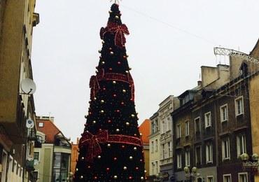 Lodowe rzeźby, iluminacje i karuzela. Jarmark Świąteczny w Olsztynie
