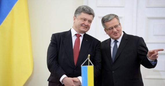 Prezydent Bronisław Komorowski, w obecności goszczącego z oficjalną wizytą w Polsce prezydenta Ukrainy Petra Poroszenki, podpisał ustawę o ratyfikacji umowy stowarzyszeniowej między Ukrainą a Unią Europejską. Ustawę zezwalającą na ratyfikację przez prezydenta Układu o stowarzyszeniu między Unią Europejską a Ukrainą Sejm uchwalił, niemal jednogłośnie, 28 listopada. Także Senat 4 grudnia jednogłośnie zgodził się na jej ratyfikację przez Bronisława Komorowskiego.