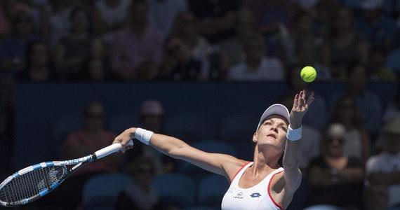 Polska prowadzi w australijskim Perth z Wielką Brytanią 1:0 w meczu 2. kolejki grupy B tenisowego Pucharu Hopmana, nieoficjalnych mistrzostw świata drużyn mieszanych. Punkt biało-czerwonym zapewniła Agnieszka Radwańska, która wygrała z Heather Watson 6:3, 6:1.