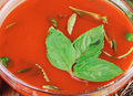 Pomidorowa zupa krem