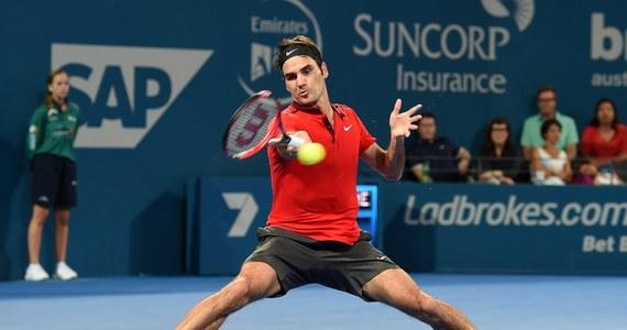 Tysięczny mecz i 83. turniej w karierze wygrał Roger Federer. Szwajcar pokonał Kanadyjczyka Milosa Raonicia 6:4, 6:7 (2-7), 6:4 w finale turnieju ATP Tour na twardych kortach w Brisbane (z pulą nagród 494 tysięcy dolarów).