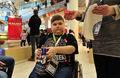 Nieuleczalnie chory Łukasz najdzielniejszym wolontariuszem WOŚP