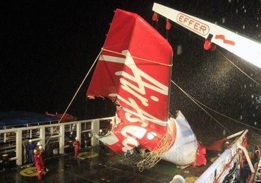 Zlokalizowali fragment kadłuba samolotu AirAsia?