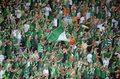 Euro 2012: Poruszający śpiew Irlandczyków