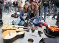 Wrocław: Gitarowy Rekord Guinessa nie został pobity