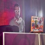 DJ Adamus i Paulla na planie teledysku