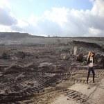 Patrycja Markowska w kopalni