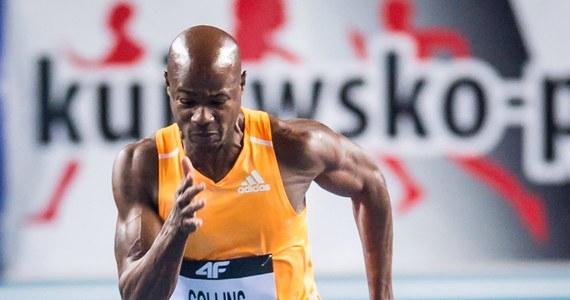 """39-letni Kim Collins, trzykrotny medalista mistrzostw świata w biegu na 100 metrów powiedział, że od teraz liczą się dla niego """"rekordy i medale"""". Kilka lat temu sportowiec podkreślał, że wybrał sport, aby... wzbudzić zainteresowanie kobiet."""