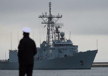 Okręty otarły się o siebie podczas manewrów na Bałtyku. Oszacowano straty
