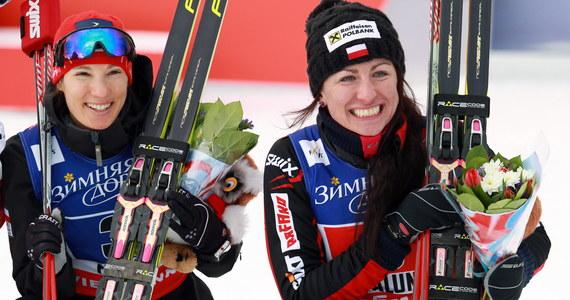 """""""Jestem dumna z powodu Sylwii, bo dała radę. Kiedyś biegłam też pierwszy raz po medal i wiem, że to jest strasznie ciężkie uczucie. Jestem z niej dumna, że walczyła dzisiaj jak nigdy"""" - powiedziała Justyna Kowalczyk, która w parze z Sylwią Jaśkowiec wywalczyła brązowy medal w sprincie drużynowym techniką dowolną w narciarskich mistrzostwach świata w Falun. Jak dodała biegaczka, obie zawodniczki """"były dobrze przygotowane i zrobiły swoje""""."""