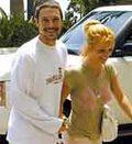 Pierwszy autograf narzeczonego Britney