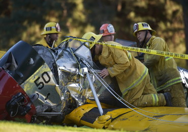 Wypadek samolotu Harrisona Forda. To nie był błąd pilota