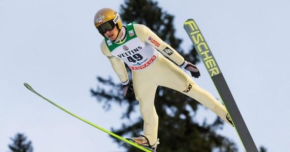 Piotr Żyła uzyskał 134,5 m i wygrał kwalifikacje do konkursu Pucharu Świata w skokach narciarskich w Trondheim. W zawodach, które rozpoczną się o godzinie 19.00 wystąpi jeszcze trzech Polaków - Kamil Stoch, Klemens Murańka i Jan Ziobro.