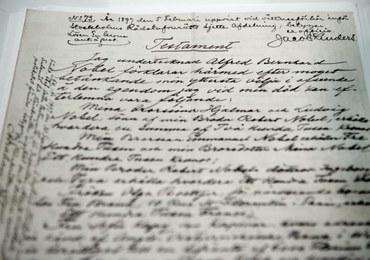 Testament Alfreda Nobla pierwszy raz pokazany publicznie