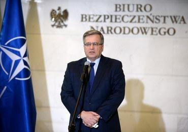 Kancelaria Prezydenta: Bronisław Komorowski nie kontaktował się z podejrzanym o defraudację