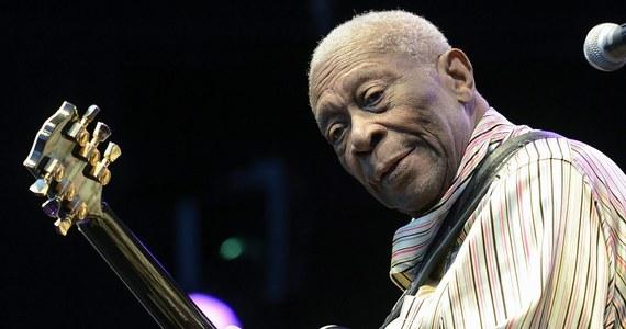"""Legendarny gitarzysta bluesowy, 89-letni B.B. King trafił do szpitala. Informację przekazał dziennik """"Los Angeles Times"""", powołując się na bliskich muzyka."""