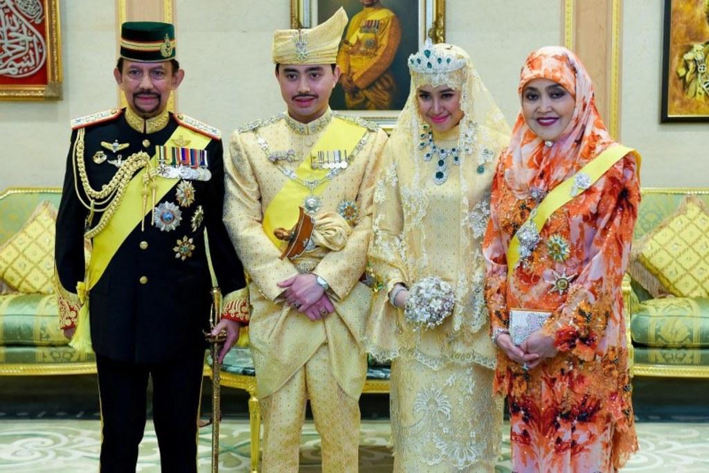 PAP/EPA/Information Department of Brunei