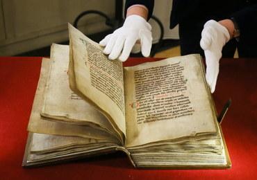 Bezcenna średniowieczna księga wróciła do Polski!