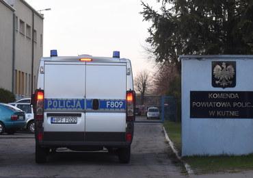 Strzały w komendzie w Kutnie. Zarzuty dla policjanta