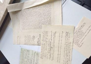 Konstytucja 3 Maja. Przez 4 tygodnie konserwator zabytków przepisywała 11 stron dokumentu