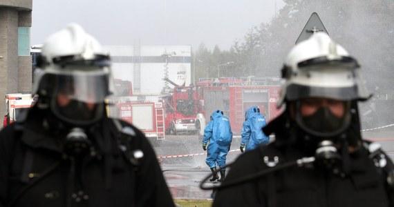Akcja strażaków w Chałupkach koło Raciborza w woj. śląskim. Doszło tam do rozszczelnienia cysterny kolejowej z amoniakiem. To informacja z Gorącej Linii RMF FM.