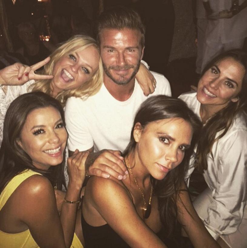40. urodziny słynnego Davida Beckhama doprowadziły do ponownego spotkania gwiazd Spice Girls.
