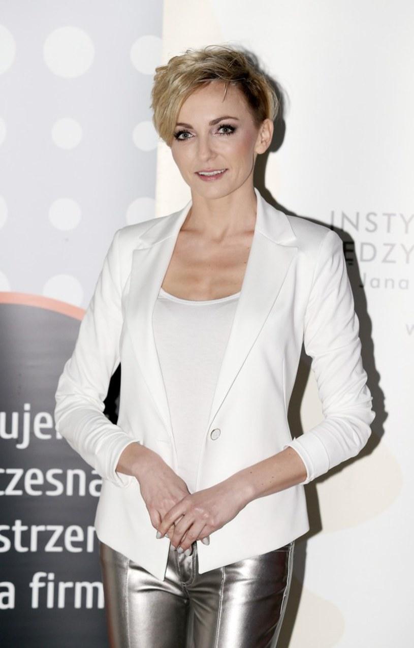 """Anna Wyszkoni była gościem programu """"Dzień dobry TVN"""", w którym najpierw odpowiadała na pytania internautów, a potem zdradziła szczegóły współpracy z Michałem Bajorem."""