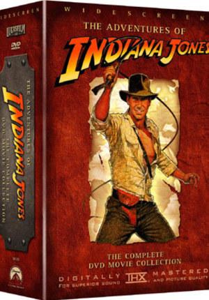 Indiana Jones - Kolekcja 4 płyt